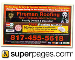 See us in the Verizon Yellow Pages and on SuperPages.com