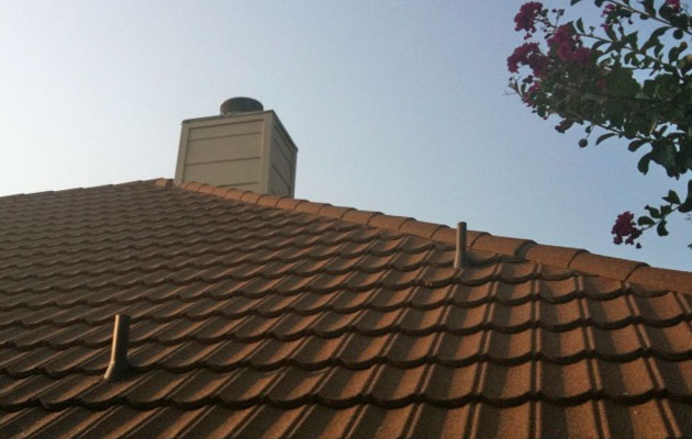 Decra Hip Roof