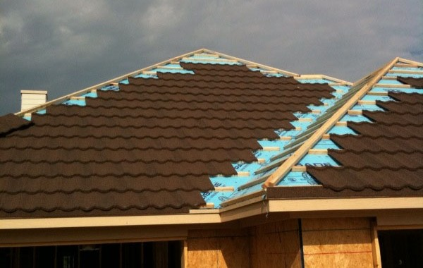 Decra Steel Hip Roof