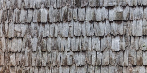 Old Wood Roof Shingles Fireman Roofing